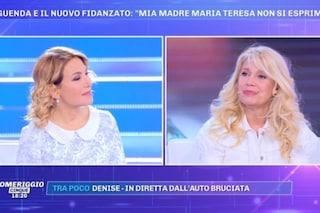 """Maria Teresa Ruta si commuove in tv: """"Parlo con mio padre morto, per me è normale"""""""