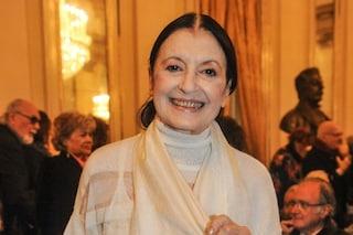 Carla Fracci, funerali domani in diretta tv su Rai1