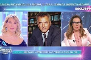 """Cesara Buonamici su Lamberto Sposini, da 10 anni lontano dalla tv: """"La sua risata non è cambiata"""""""