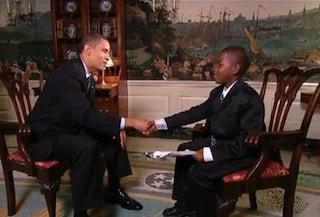 Morto Damon Weaver, il bambino che nel 2009 intervistò Obama chiedendo di essergli amico