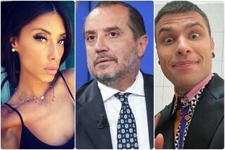 """La fidanzata di Franco Di Mare, direttore di Rai3: """"Fedez è disgustoso, gli serve pubblicità"""""""