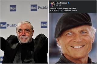 """La frecciata di Nino Frassica: """"Don Matteo è Terence Hill, Terence Hill è Don Matteo"""""""