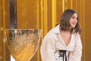 """Finale di Amici 2021, l'emozione di Gaia Gozzi e l'appello: """"Aiutate i lavoratori dello spettacolo"""""""