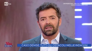 A La Vita in Diretta stop al servizio sul caso Denise Pipitone, Alberto Matano protesta