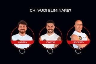 Isola dei famosi 2021, Andrea Cerioli, Ignazio Moser e Roberto Ciufoli nominati: chi vuoi eliminare?