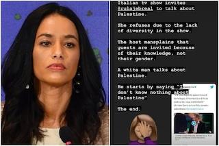 La reazione di Rula Jebreal alla puntata di Propaganda Live dopo il suo forfait