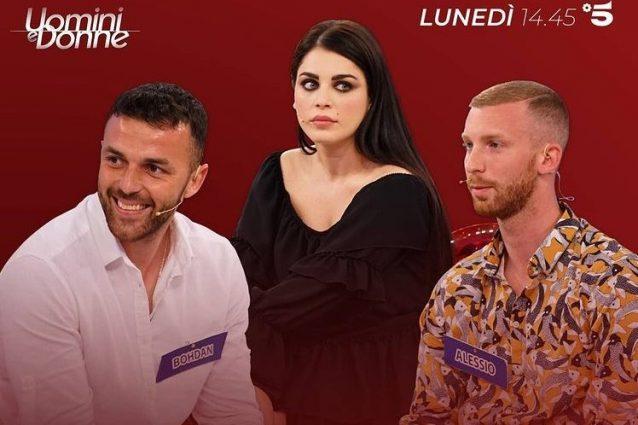 A Uomini e Donne la scelta di Samantha Curcio tra Alessio e Bohdan