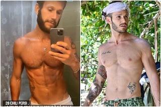 Matteo Diamante dimagrito nella prima foto a casa, ecco quanti kg ha perso