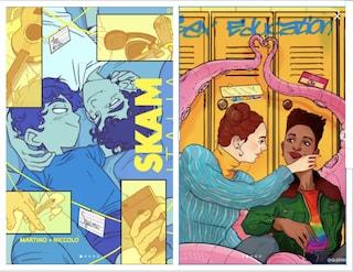 Da SKAM a Sex Education, Netflix celebra il Pride Month con le illustrazioni delle serie più belle