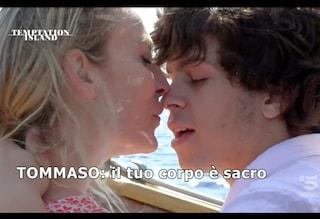 """Temptation Island, Tommaso pazzo di gelosia per Valentina: """"Sei solo mia, devi guardare solo me"""""""