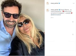 Mara Venier in lenta ripresa, la domenica senza tv è con Alberto Matano