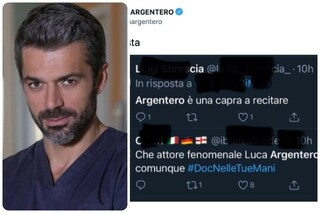 """Doc torna in replica: """"Luca Argentero è una capra a recitare"""", la reazione dell'attore"""