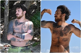 Andrea Cerioli molto dimagrito dopo l'Isola dei famosi, ecco quanti chili ha perso