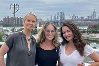 Sex and The City il reboot: la foto di Carrie, Charlotte e Miranda di nuovo insieme