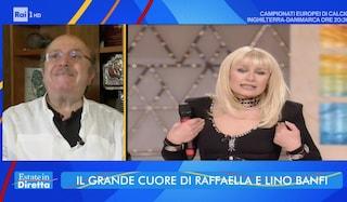 """Lino Banfi compie 85 anni con il dolore: """"Non riesco a superare la morte di Raffaella Carrà"""""""