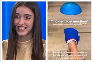 """Giulia Stabile, la ballerina di Amici si infortuna a un piede: """"Capita se sei goffa"""""""