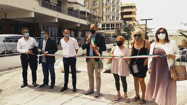 Il sindaco inaugura il nuovo lungomare di Bellaria