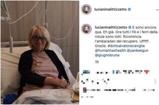 """Luciana Littizzetto di nuovo in ospedale: """"Sono ancora qua"""""""