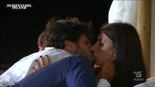 """Luciano bacia Manuela a Temptation Island 2021: """"Non sono come gli altri"""""""