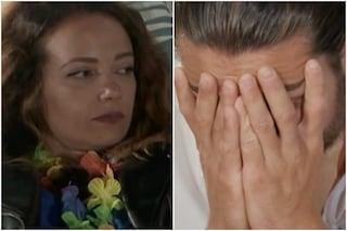 """Temptation Island, la rivelazione di Natascia che fa piangere Alessio: """"Quei video sul telefono"""""""