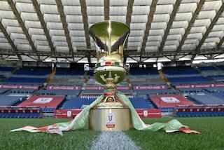 Dove vedere la Coppa Italia 2021/2022 in tv, gli appuntamenti dei 32esimi di finale