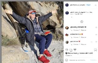 """L'ultima foto di Gianfranco D'Angelo: """"Arrivederci amici, viva la vita"""""""