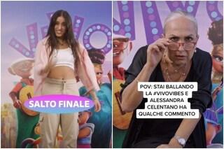 Giulia Stabile in un video social per Netflix, il progetto insieme ad Alessandra Celentano