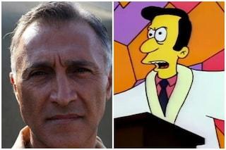È morto Nino D'Agata, attore e doppiatore: sua la voce di Lovejoy ne I Simpson