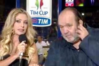 """Paola Ferrari risponde a Giampiero Galeazzi: """"Sì, sono stata invadente con il mondo degli uomini"""""""