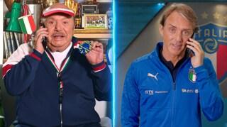 """Due mister al prezzo di uno: dopo il """"porca pu***na""""  Lino Banfi ci riprova con Roberto Mancini"""