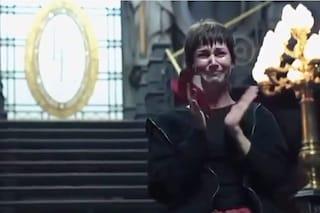 L'addio di Tokyo al cast de La Casa di Carta, Úrsula Corberó Delgado in lacrime