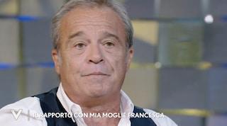 """Claudio Amendola sulla malattia di Francesca Neri: """"Soffre e ha un dolore fisico enorme"""""""