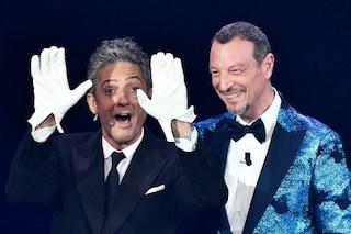 """Fiorello confermato al Festival di Sanremo 2022, Amadeus: """"Non potrei farlo senza di lui"""""""