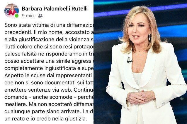 """Barbara Palombelli porta tutti in Tribunale: """"Sono io vittima di diffamazione"""""""