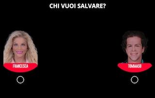 Nomination della seconda puntata del Grande Fratello Vip 2021: Tommaso Eletti e Francesca Cipriani
