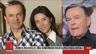 """Dodi Battaglia ricorda la moglie morta per un tumore: """"Devastante, ora sto vicino a mia figlia"""""""