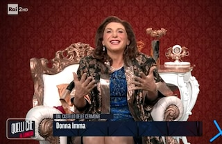 """Barbara Foria e l'imitazione di Donna Imma Polese: """"Matrimoni con 800 invitati? Troppo pochi"""""""