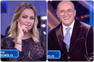 GF Vip, Paolo Bonolis in collegamento con Signorini difende sua moglie Sonia Bruganelli