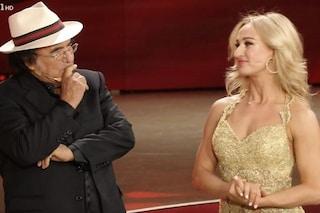 """Ballando con le stelle, Al Bano balla con Oxana Lebedew nonostante l'infortunio: """"È la mia roccia"""""""
