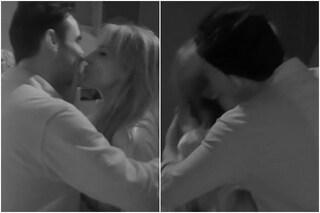 Il bacio tra Miriana Trevisan e Nicola Pisu, poi dormono abbracciati al GF Vip