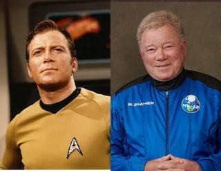 Dalla finzione alla realtà, il capitano Kirk di Star Trek è andato nello spazio a 90 anni