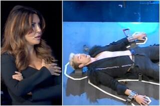 """Sabrina Ferilli teme di uccidere un concorrente a TSQV, De Filippi: """"Ti arresteranno per omicidio"""""""