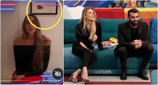 """GF Vip: il video di Greta per Gianmaria registrato a casa di Fabrizio Corona, """"amico"""" di Sophie"""