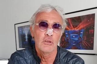 Massimo Giletti con il naso fratturato, il racconto dell'incidente sui social