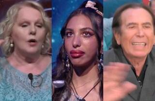 I 5 momenti imperdibili dell'undicesima puntata del GF Vip:dalle lacrime di Lulù alle urla di Giucas