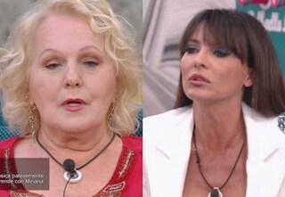 """GF Vip, Katia Ricciarelli contro Miriana Trevisan: """"Mi hai mentito, non prendermi per i fondelli"""""""