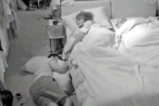 Nicola Pisu al GFVip dorme a terra pur di stare accanto a Miriana Trevisan