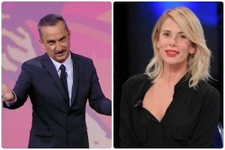 """Nicola Savino saluta Alessia Marcuzzi alla prima puntata de Le Iene: """"Questa è sempre casa tua"""""""