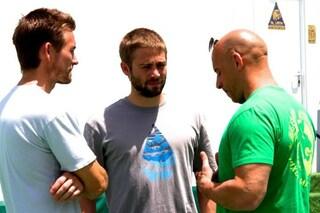 """Vin Diesel e i fratelli di Paul Walker sul set di 'Fast & Furious 7': """"Orgoglioso di loro"""""""