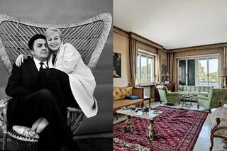 """In vendita la casa di Fellini e Giulietta Masina che ispirò """"La Dolce Vita"""""""